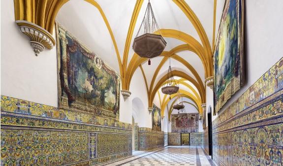 Sala Bovedas Palacio Gotico Alcazar De Sevilla Dosde Publishing