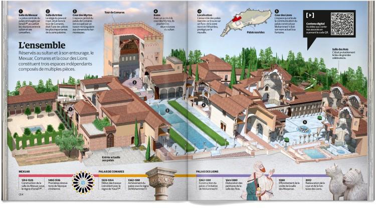 Alhambra Grenade Livre Francais Dosde