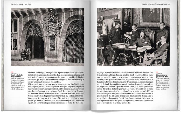 Antoni Gaudi Biographie Livre Francais Dosde Publishing