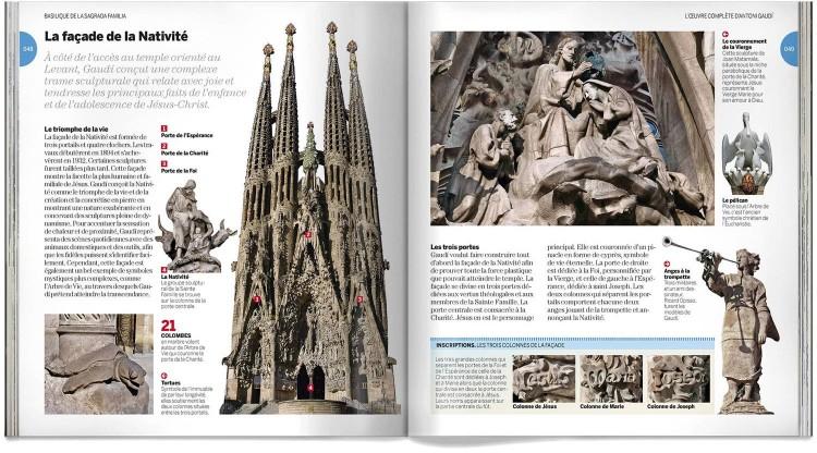 Antoni Gaudi Livre Francais Dosde Publishing