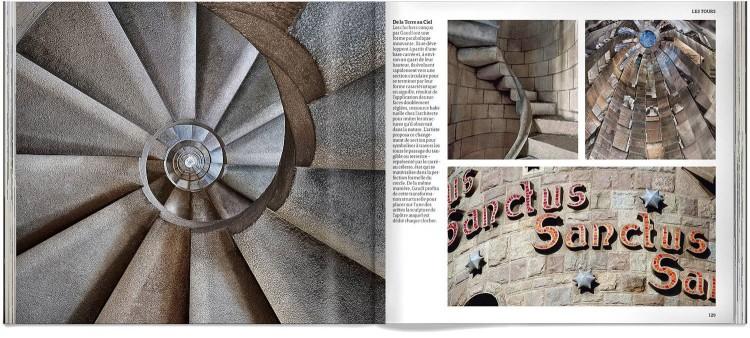 Basilique Sagrada Familia Gaudi Photo Edition Livre Francais Dosde Publishing