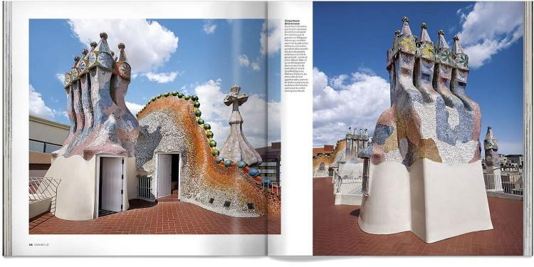Casa Batllo Gaudi Barcelone Livre Francais Edition Deluxe Dosde Publishing