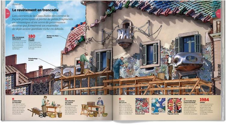 Casa Batllo Gaudi Livre Francais Dosde Publishing