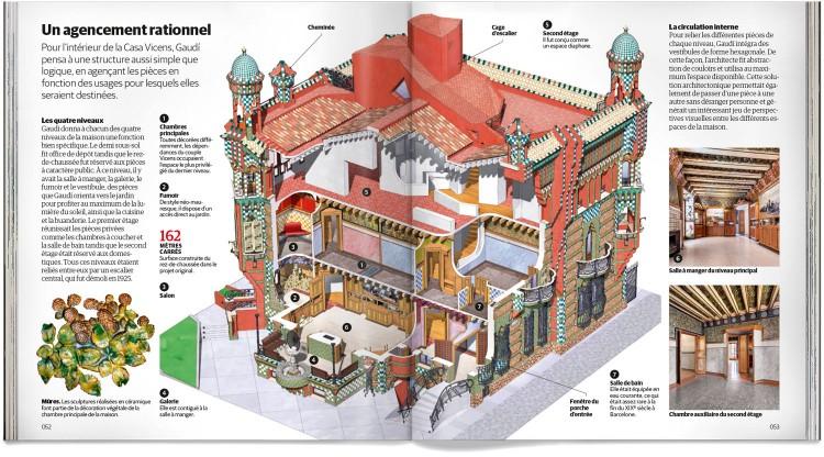 Casa Vicens Barcelona Gaudí Livre Français Dosde