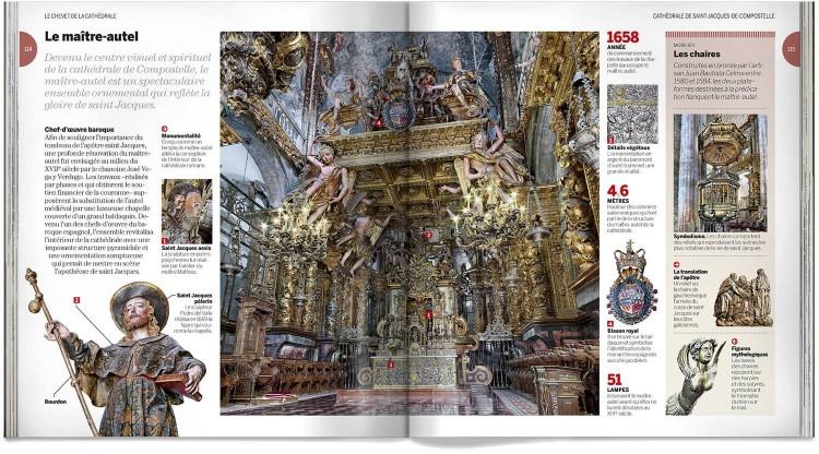 Cathedrale Saint Jacques De Compostelle Livre Francais Dosde Publishing