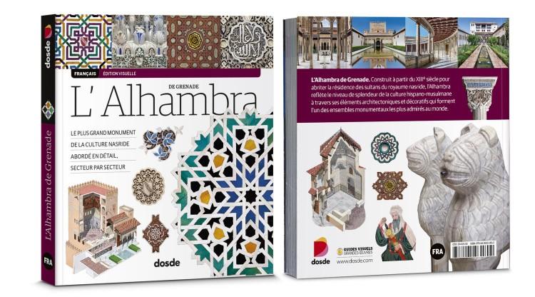 Couverture Alhambra Grenade Livre Francais Dosde