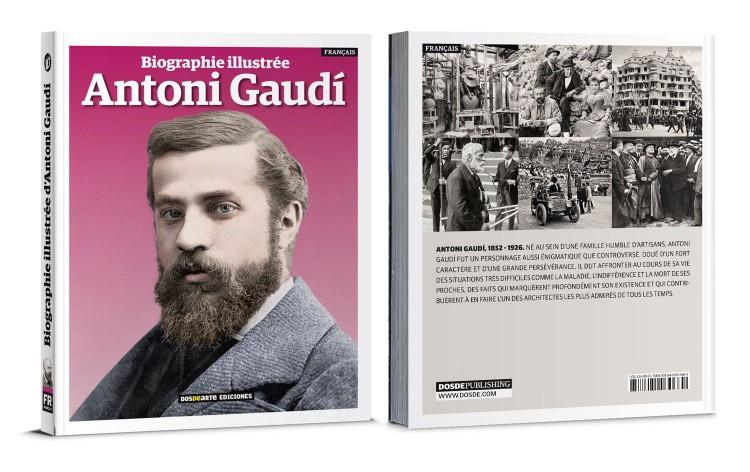 Couverture Antoni Gaudi Biographie Livre Francais Dosde Publishing