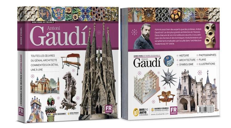 Couverture Antoni Gaudi Livre Francais Dosde Publishing