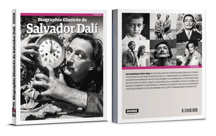 Couverture Biographie De Dalí Livre Français Dosde Publishing