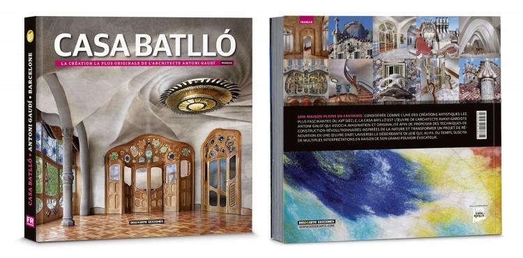 Couverture Casa Batllo Gaudi Barcelone Livre Francais Edition Deluxe Dosde Publishing