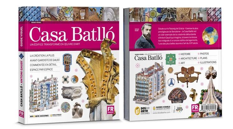 Couverture Casa Batllo Gaudi Livre Francais Dosde Publishing