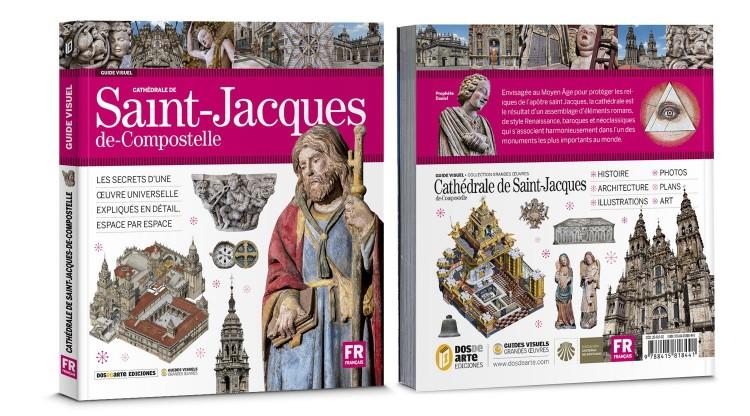 Couverture Cathedrale Saint Jacques De Compostelle Livre Francais Dosde Publishing