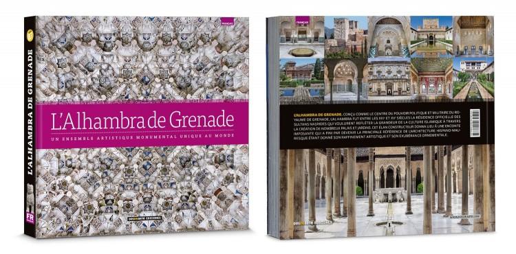 Couverture L Alhambra De Grenade Livre Francais Edition Deluxe Dosde Publishing