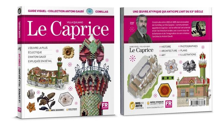Couverture Le Caprice Villa Quijano Livre Francais Dosde Publishing