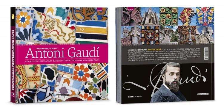 Couverture Livre Antoni Gaudi Ensemble De Oeuvre Deluxe Edition Francais Dosde Publishing