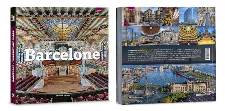 Couverture Livre Barcelona Ville Francais Edition Deluxe Dosde Publishing