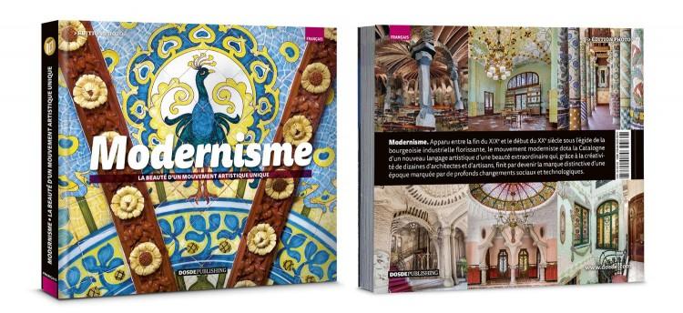 Couverture Modernisme Barcelone Art Livre Francais Dosde Publishing
