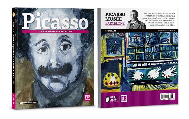 Couverture Pablo Picasso Dans Le Musee Livre Francais Art Dosde Publishing