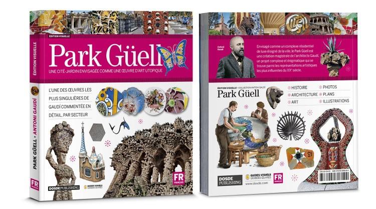Couverture Park Guell Gaudi Livre Francais Dosde Publishing