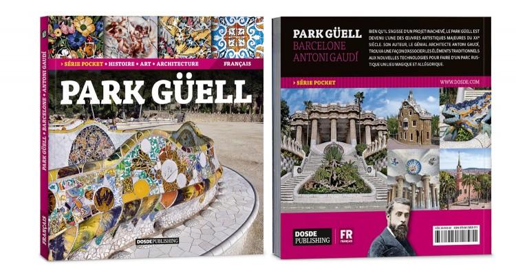Couverture Park Guell Gaudi Pocket Livre Francais Dosde Publishing