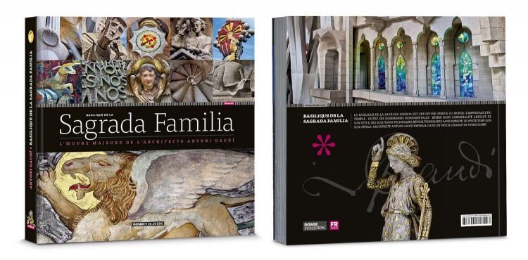 Couverture Sagrada Familia Livre Francais Dosde Publishing