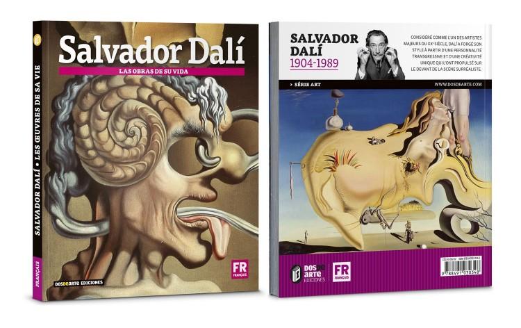 Couverture Salvador Dali Les Oeuvres De Sa Vie Livre Francais Art Dosde Publishing