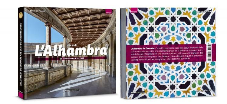 Couverturel Alhambra De Grenade Photo Edition Livre Francais Dosde Publishing