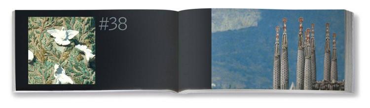 Interior Flipbook Sagrada Familia Gaudi Dosde Publishing