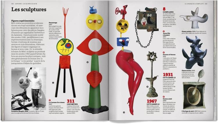 Joan Miro Les Oeuvres De Sa Vie Livre Francais Art Dosde Publishing