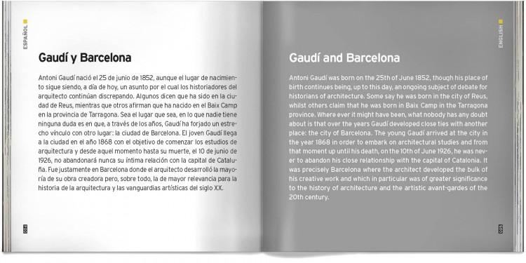 Libro Bolsillo Antoni Gaudi Obras Barcelona Works Pocket Book Dosde Publishing