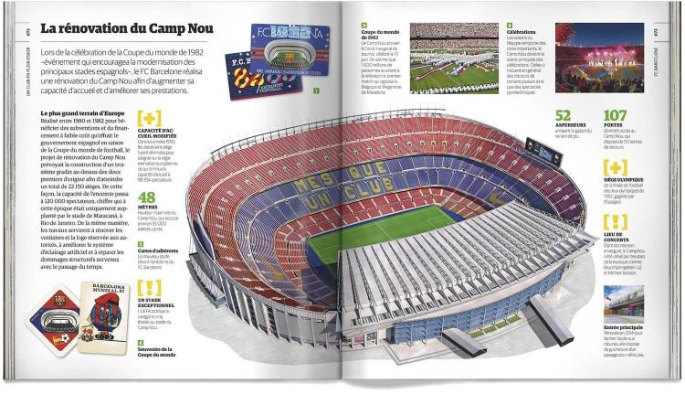 Livre Fc Barcelone Barça Histoire Illustree Du Football Club