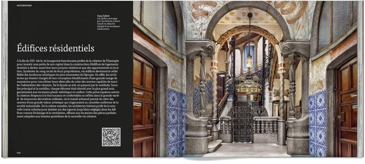Modernisme Barcelone Art Livre Francais Dosde Publishing