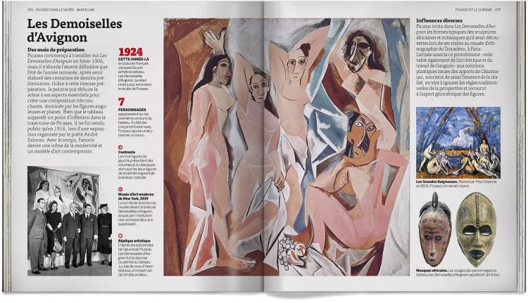 Pablo Picasso Dans Le Musee Livre Francais Art Dosde Publishing
