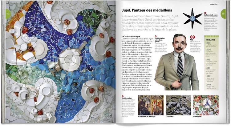 Park Guell Gaudi Livre Francais Dosde Publishing