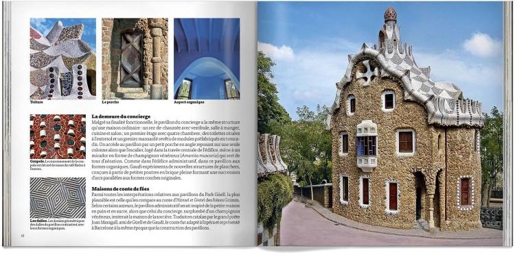 Park Guell Gaudi Pocket Livre Francais Dosde Publishing