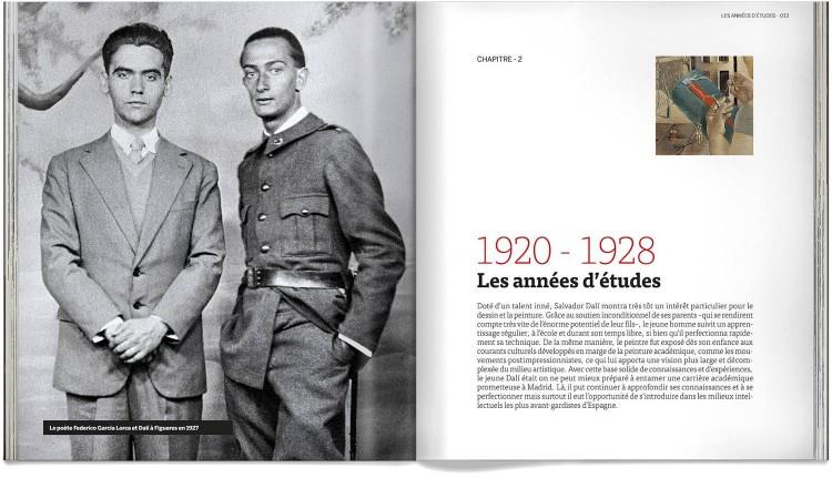 Salvador Dali Les Oeuvres De Sa Vie Livre Francais Art Dosde Publishing