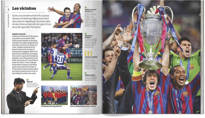 Livre Fc Barcelone Toute L Histoire Du Club